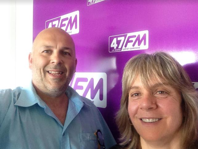 Retrouvez Laurence Gauthier et fred Grava au micro de 47FM du lundi 21 mai 2018