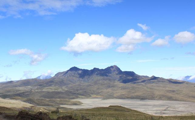Bergsteigen in Ecuador - hier der Rumiñahui