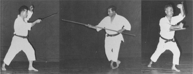 Shinei Kyan Sensei und Jokei Kushi Sensei