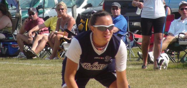 Emma Cenzon negli Stati Uniti con Baseball On The Road
