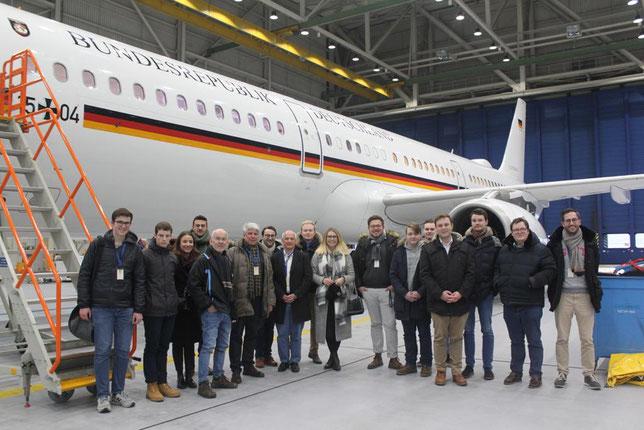 Besuch der Flugbereitschaft Köln-Wahn
