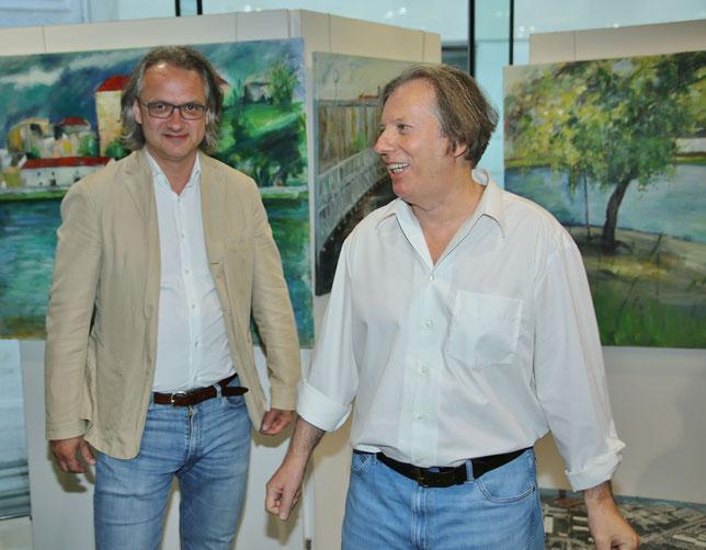 Gazmend Freitag, Dr. Julius Stieber - Kulturdirektor der Stadt Linz  © Robert Rieger