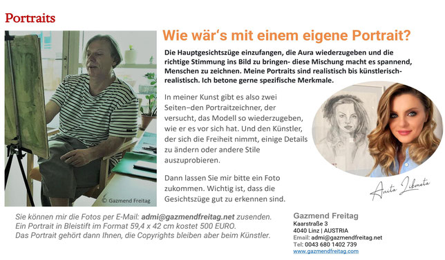Portraits - Gazmend Freitag