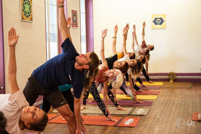 Pas besoin d'être souple pour faire du yoga, c'est en faisant qu'on le devient!