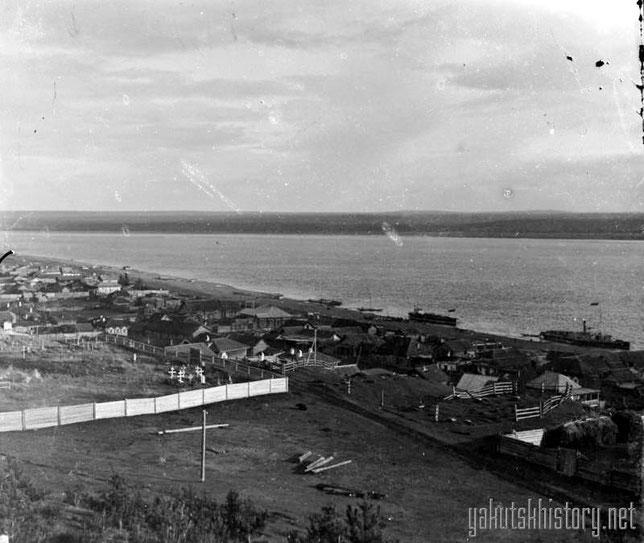 Пристань в Олекминске