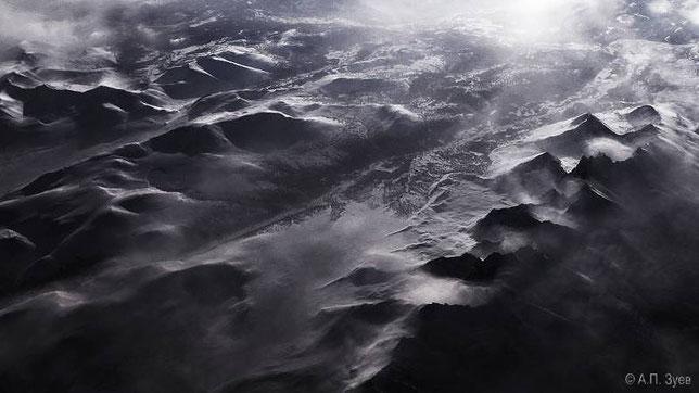 Ночь над Уральскими горами. Фото Зуева А.П.