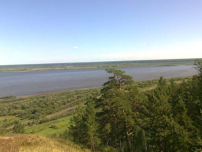 Река лена под Якутском. Фото С. Дьяконова