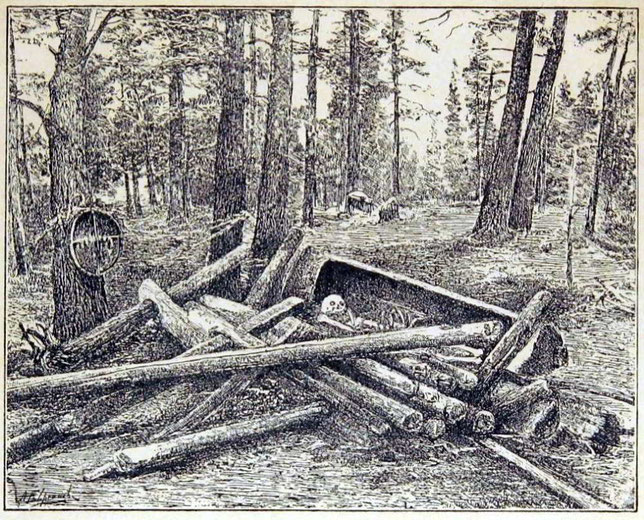 Арангасъ (мѣсто погребенія) шамана