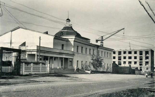 Здание театра в конце 50-х 20 в.