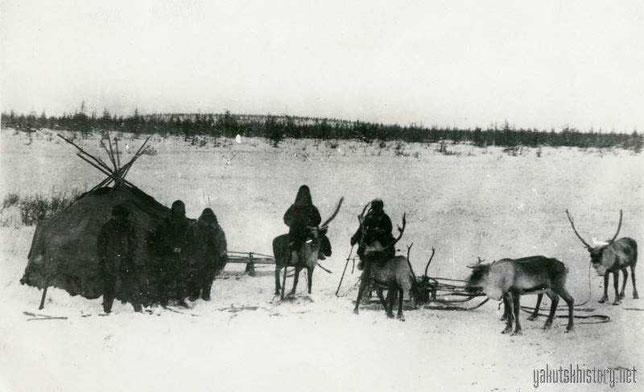 Вид по дороге из Якутска в Верхоянск