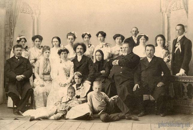 Свадьба сына купца Ф.В. Астраханцева и дочери якутского головы П.А. Юшманова