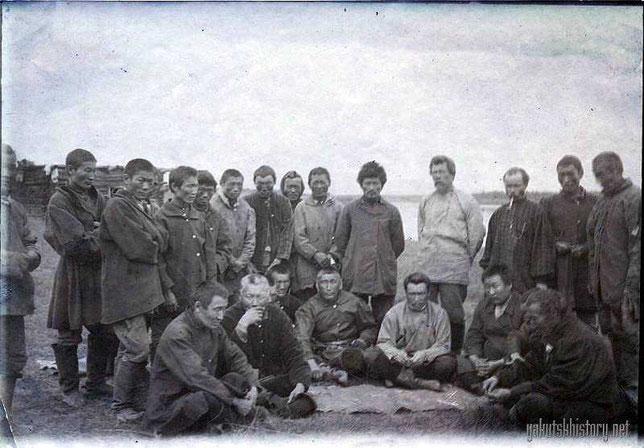 Группа якутов Верхоянского округа