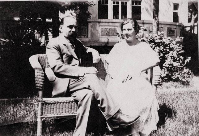Петр Акепсимович и Татьяна Васильевна Кушнаревы. Циндао, 1928 год. Из личного архива Анны Лавровой