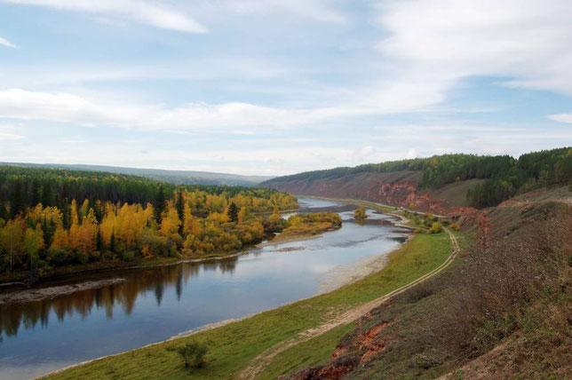 Дорога вдоль Лены к Шишкинским писаницам. Фото Алексея Зуева