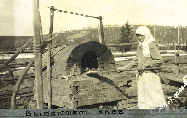 Выпечка хлеба около Якутска