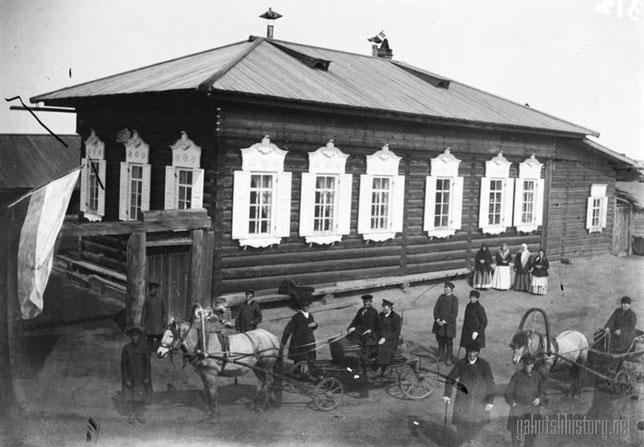 Олекминские скопцы Спасского селения. Снимок Е.П. Ересько