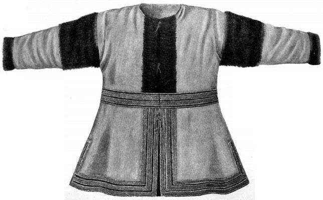 Рис. 19. Короткая одежда из ровдуги.