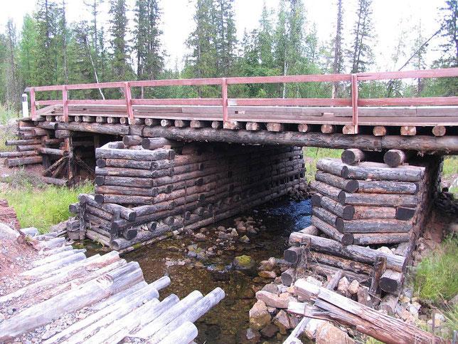Новый мост через р.Половинка на Чечуйском волоке. Фото Алексея Зуева