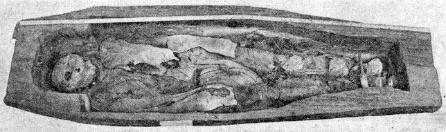 Рис. 12. Могила № 3.