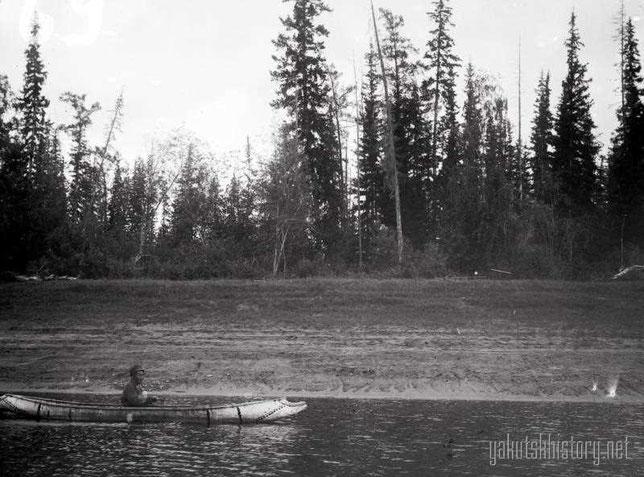 Якутская берестянка. Снимок Е.П.Ересько