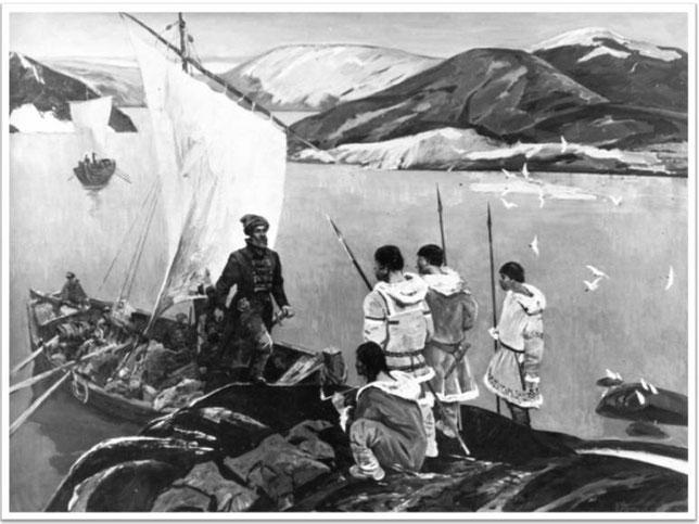 Тулин Ю.Н. «Землепроходцы» (1973 год)