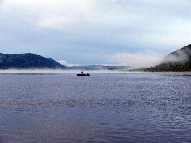 Лена у устья Бобровки. Фото Алексея Зуева