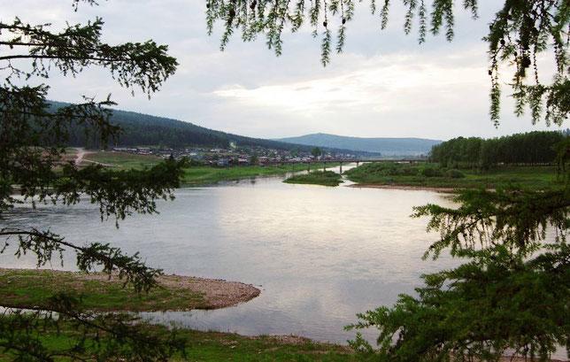 Панорамный вид на устье реки Куты. Фото Алексея Зуева