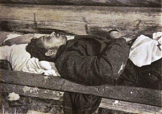 """Убитый на баррикадахъ """"Романовецъ"""" 4-го марта 1904 г. Юрiй Матлаховъ."""