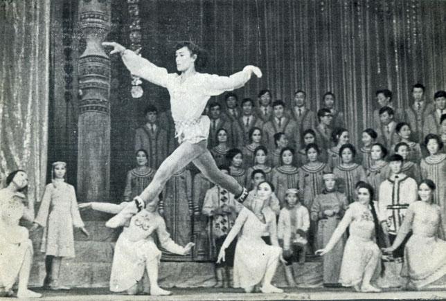 Репетиция театра перед отъездом в Башкирию