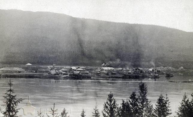 Bopoнцовская пароходная пристань Cибиряковых