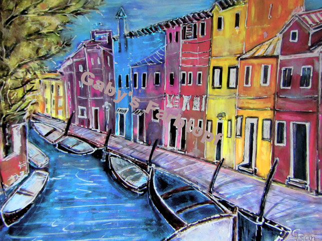 Burano Insel bei Venedig