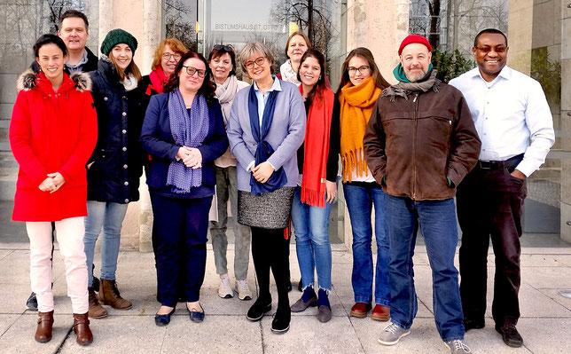 Teilnehmer des Seminars: Logotherapeutische Gesprächsführung (28. 1. - 1. 2. 2019)