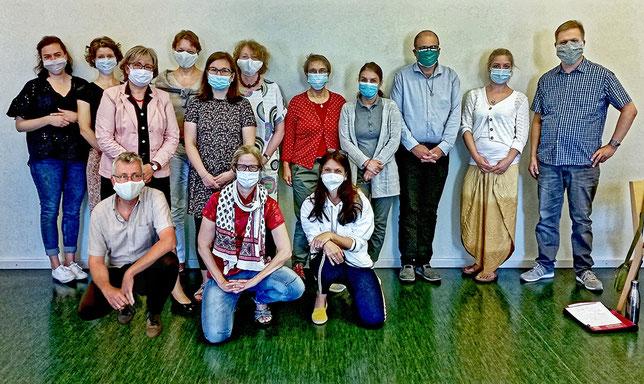 Teilnehmer des Seminars: Logotherapeutische Gesprächsführung (27.-31.7.2020)