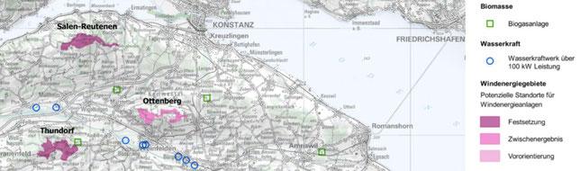 diese Gebiete soll der Kantonsrat nun in den Richtplan aufnehmen
