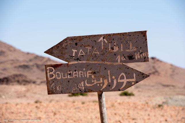 Die Oasenstadt im Antiatlas Tata in Marokko