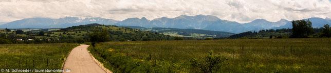 Hohe Tatra Karpaten Nationalpark Polen mit dem Wohnmobil