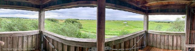 Aussichtsplattform auf dem Natur-Erlebnispfad