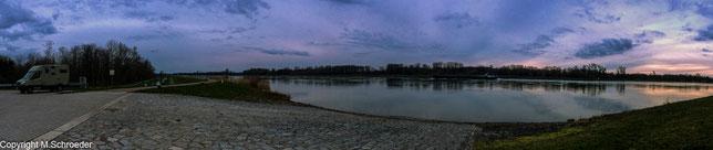 zurück am Rhein