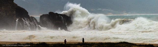 Monsterwellen vor Nazaré