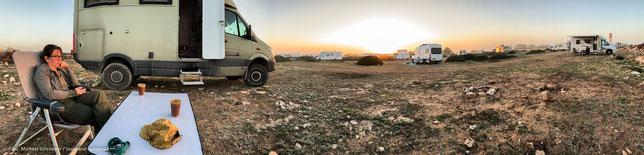 Wohnmobil-Stellplatz in Sidi Kaouki