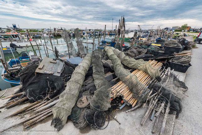 Gorino - ein blebter Fischereihafen mit Wohnmobilstellplatz