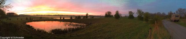 Naturschutzgebiet Kührener Teich und Lanker See bei Preetz