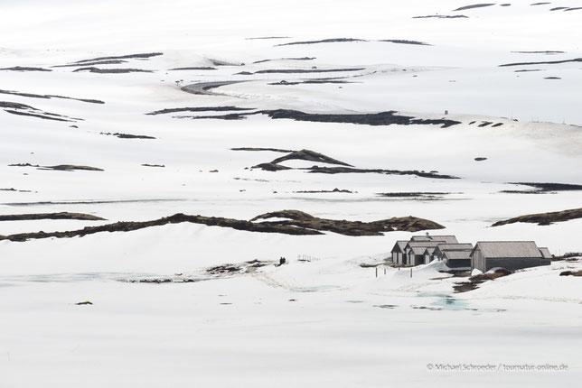 Parkplatz in der Hardangervidda