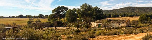 Bauernhof im Hinterland von Spanien