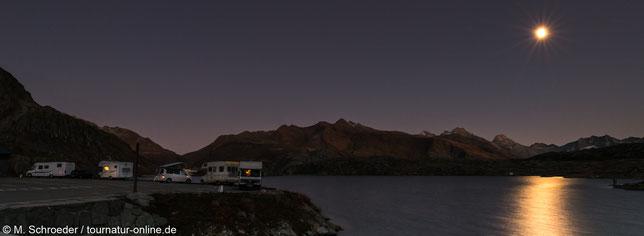 Nachts am Totensee/Grimselpaß
