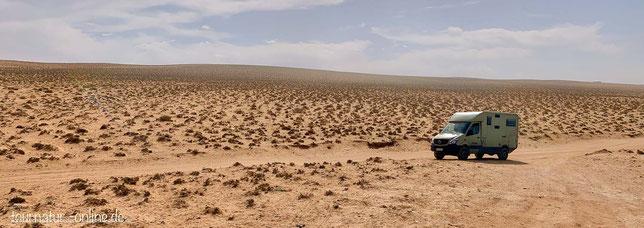 unendliche Weite in der Nähe von Sidi R´bat