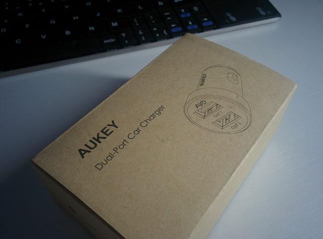 Aukey Cargador USB Para Coche