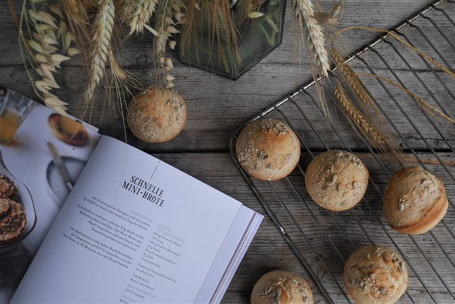 Brot backen mit Christina. schnelle Mini Brote