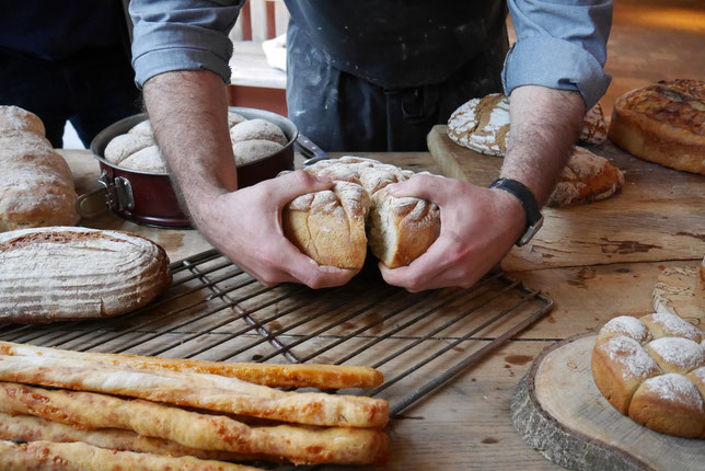 Brot backen im Stiegl Gut Wildshut
