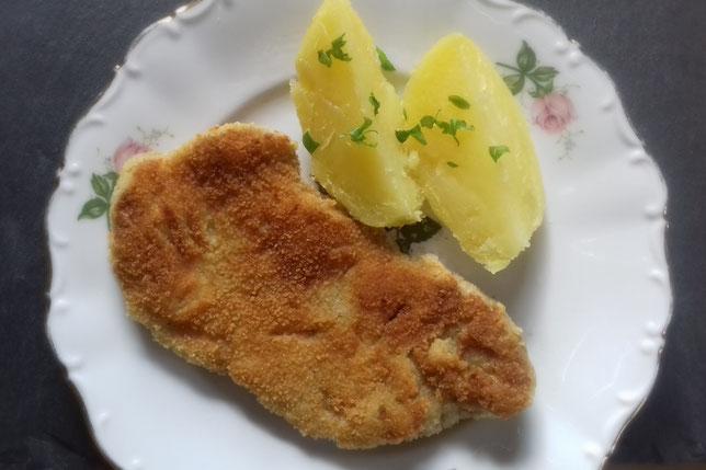 veganes Schnitzel